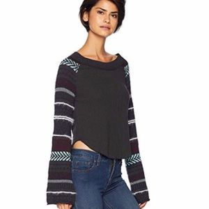 Free People Tops - Free People Fairground Thermal Top NWT